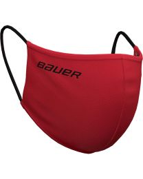 Bauer Reversible Protection Face Mask - Red/Bauer