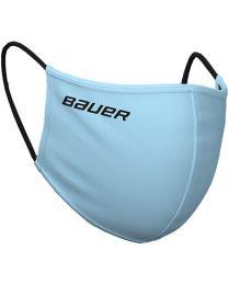 Bauer Reversible Protection Face Mask - Blue/Plaid