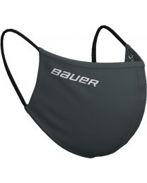 Bauer Reversible Protection Face Mask - Charcoal/Sticks