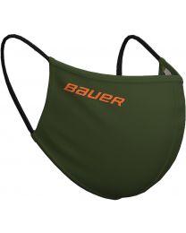 Bauer Reversible Protection Face Mask - Green/Camo