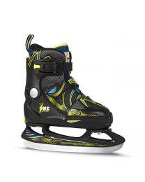 Fila X-One Adjustable Skate For Kids in black