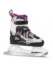Fila X-One Adjustable Skate For Kids in White