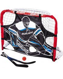 """Bauer Deluxe Knee Hockey Goal Set - 32"""""""