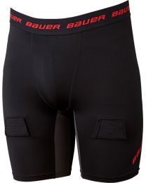 Bauer Essential Compression Jock Short - Youth