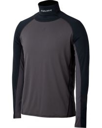 Bauer Long Sleeve Neckprotect Top - Senior
