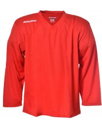 Bauer Practice Jersey in Red - Senior