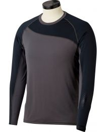 Bauer Pro Long Sleeve Grip Top in Black - Senior