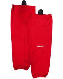 Bauer Flex Stock Hockey Sock in Red - Senior
