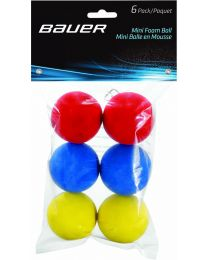 Bauer Mini foam ball (6-pack)