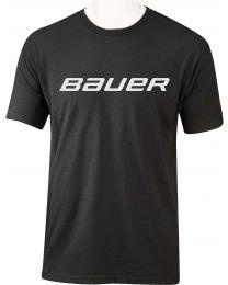 Bauer Core Short Sleeve Tee Black - Senior