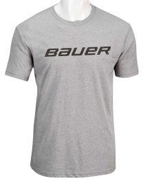 Bauer Core Short Sleeve Tee Heather Grey - Senior