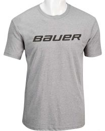 Bauer Core Short Sleeve Tee Heather Grey - Youth