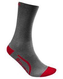 Bauer Mid Calf Sock - Grey