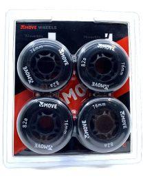 Move Inline skate Wheels - 4 pack
